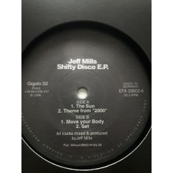 Jeff Mills ‎– Shifty Disco E.P.