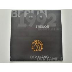 """Berlin 1992 - Tresor Kompilation - Der Klang Der Familie (2x 12"""")"""