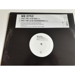 "MB Style ‎– First Time (12"")"