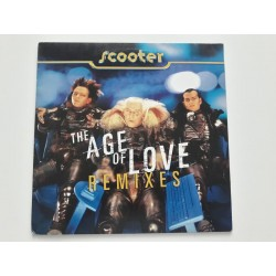 "Scooter ‎– The Age Of Love (Remixes) (12"")"