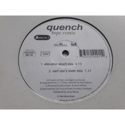 "Quench ‎– Hope (Remix) (12"")"