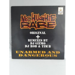 "MC Hughie Babe ‎– Unarmed And Dangerous (12"")"