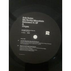 """Erik Sumo – My Rocky Mountain Remixed 1 (12"""")"""