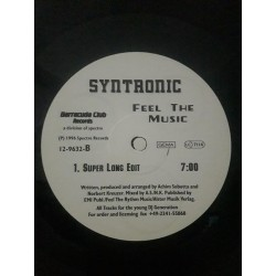 """Syntronic – Feel The Music (12"""")"""