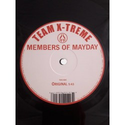 """Members Of Mayday – Team X-Treme (12"""")"""