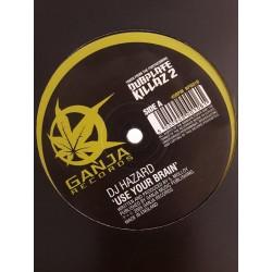 """DJ Hazard – Use Your Brain / Selector (12"""")"""