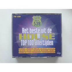 Het Beste Uit De House Top 100 Allertijden (2x CD)