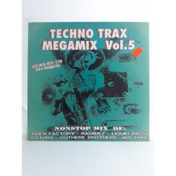 "Techno Trax Megamix Vol. 5 (12"")"