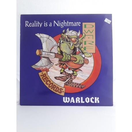 "Warlock – Reality Is A Nightmare (12"")"