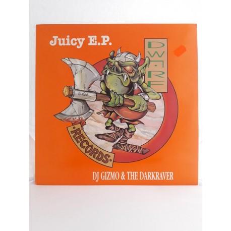 """DJ Gizmo & The Darkraver – Juicy E.P. (12"""")"""