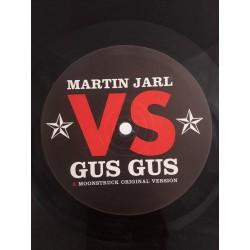 """Martin Jarl Vs. Gus Gus – Moonstruck (12"""")"""